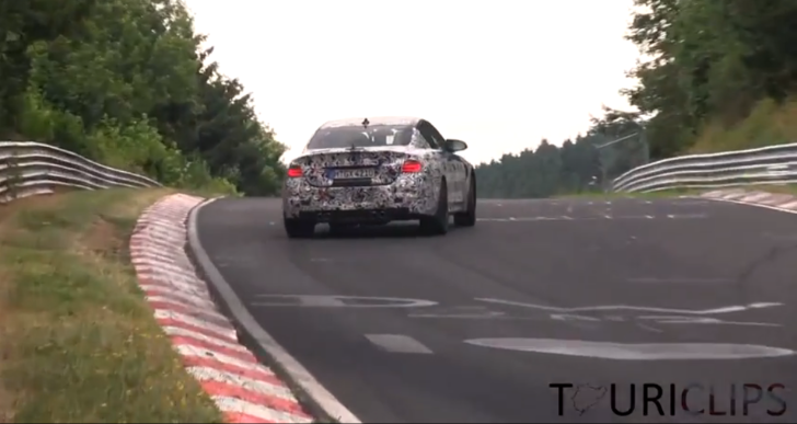 Spy Video: 2014 BMW M4 Drifting on the Nurburgring