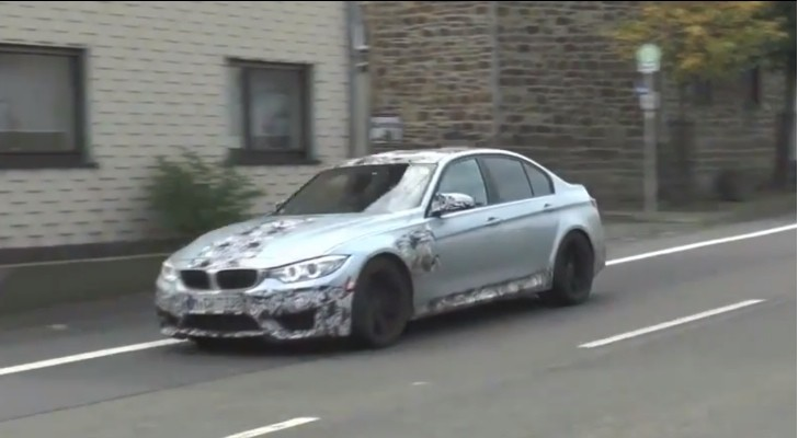 Spy Video: 2014 F80 BMW M3 Sedan [Video]