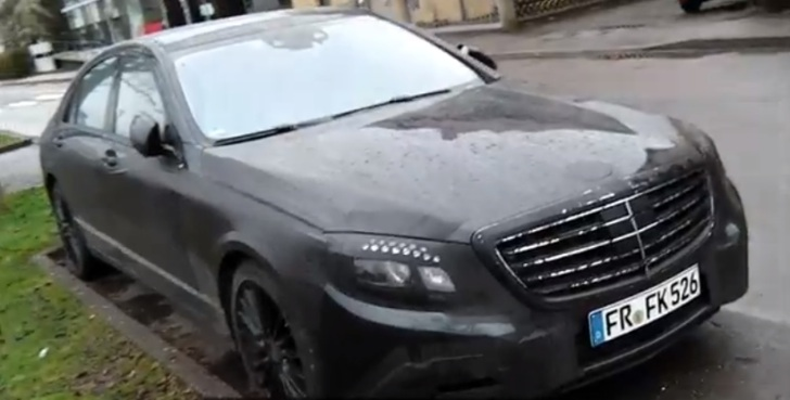 Spy Video: 2014 Mercedes S-Class With Minimal Camo [Video]