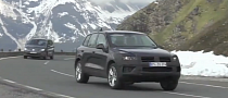 Spy Video: 2014 Volkswagen Touareg Facelift Spied While Testing [Video]