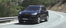 Spy Video: 2015 Porsche Cayenne Facelift [Video]