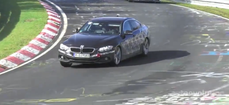 Spy Video: BMW F36 4 Series Gran Coupe on the Nurburgring