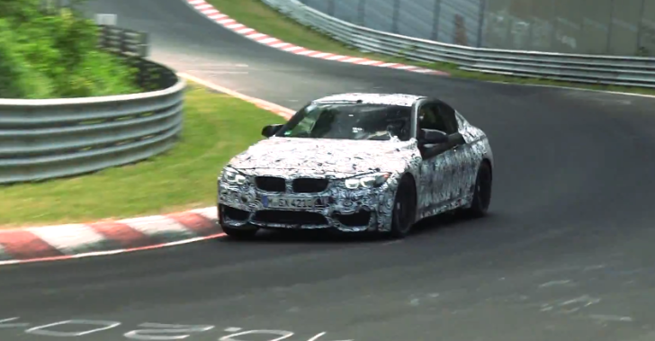 Spy Video: BMW F82 M4 Testing on the Nurburgring [Video]