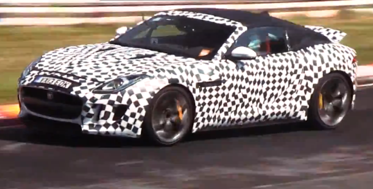 Spy Video: Jaguar F-Type V8 S Coupe at the Nurburgring [Video]