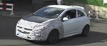 Spy Video: Opel Corsa OPC Facelift [Video]