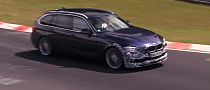 Spy Video:Alpina B3 Biturbo Touring at the Nurburgring [Video]