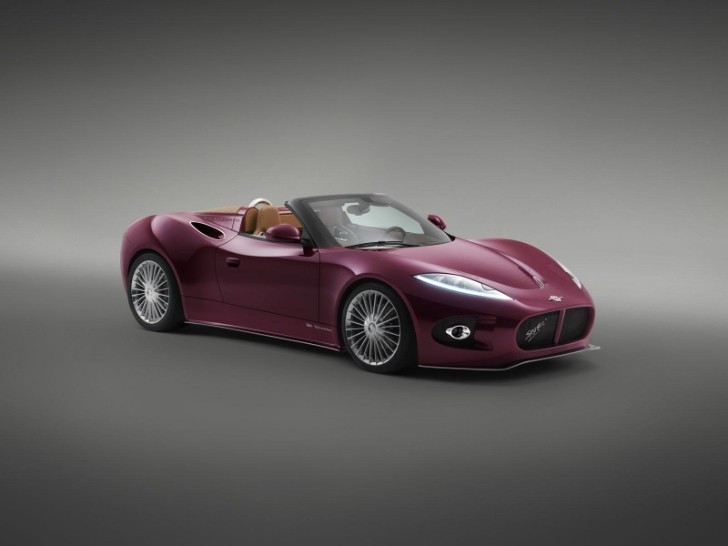 Spyker B6 Venator Spyder Concept to Make European Debut at Salon Prive