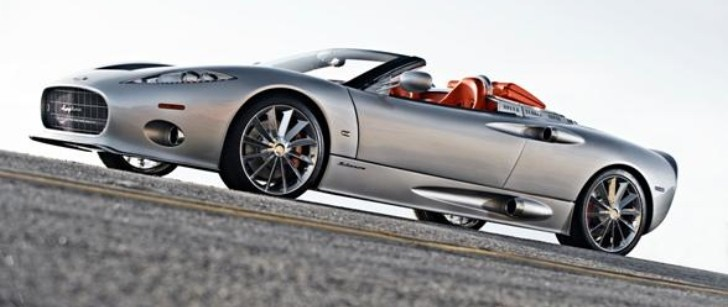 Spyker C8 Spyder to Be Auctioned by Aston Barclay in the UK
