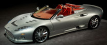 Spyker Unveiled C8 Aileron Spyder Prototype Version