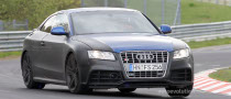 Spyshots: 2010 Audi RS5 with Retractable Rear Spoiler