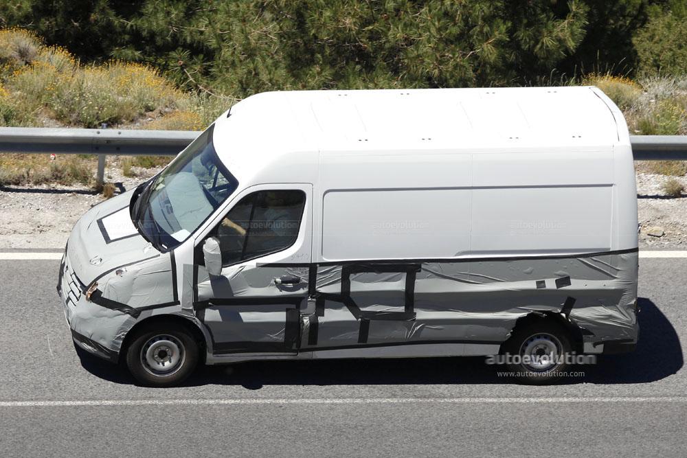 Spyshots: 2010 Renault Master - autoevolution