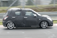 2010 Suzuki Swift spyshot