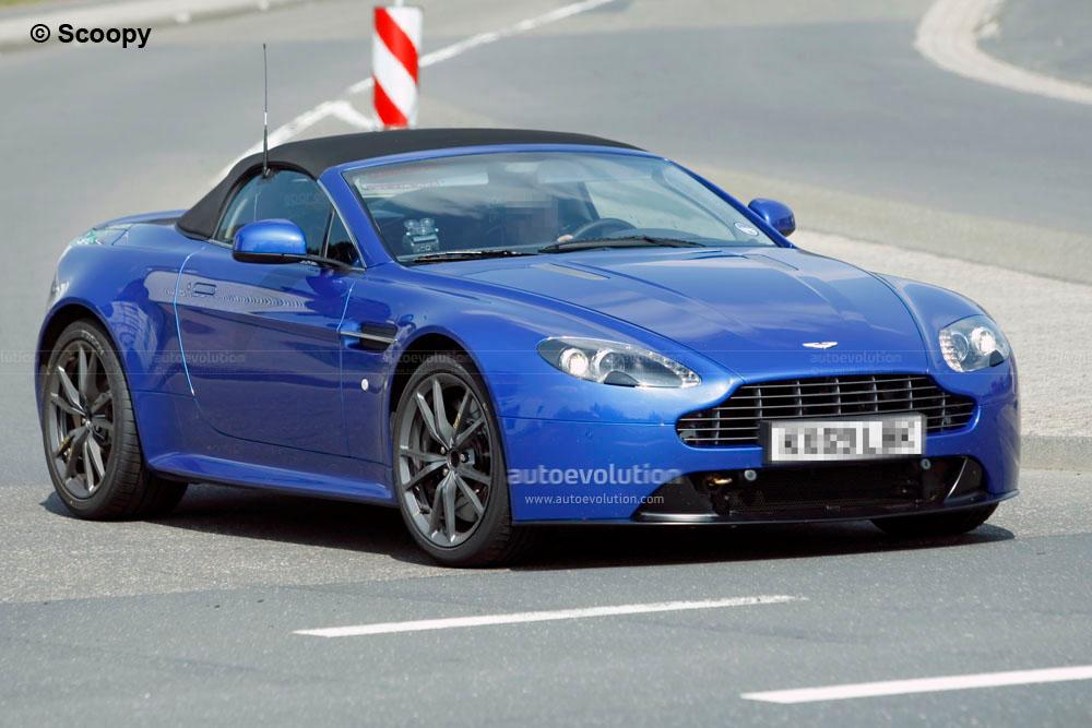 Spyshots Aston Martin Vantage Roadster Facelift Autoevolution - Aston martin near me