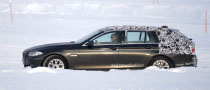 Spyshots: 2011 BMW 5 Series Touring