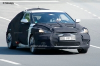 New Hyundai Veloster spyshot with headlights exposed