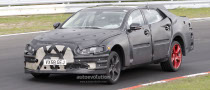 Spyshots: 2011 Jaguar XJ on Nurburgring
