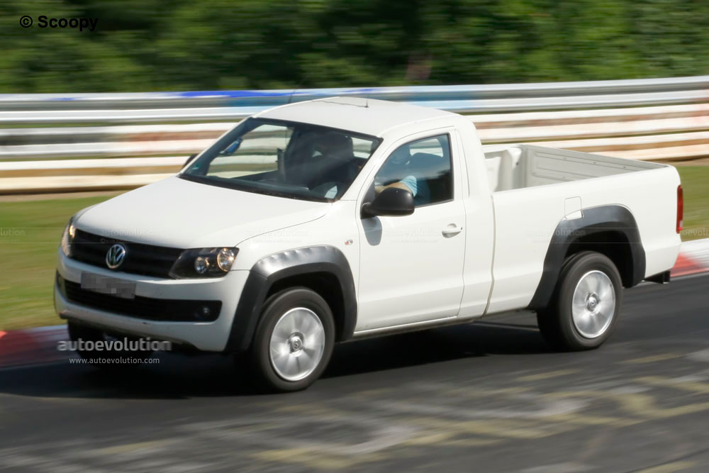 Spyshots: 2011 Volkswagen Amarok Single Cab - autoevolution