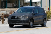 New VW Tiguan facelift spyshots