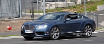 Spyshots: 2012 Bentley Continental GT Speed Facelift