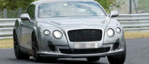 Spyshots: 2012 Bentley Continental GTC Shows Its New Face