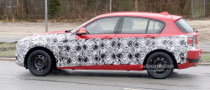 Spyshots: 2012 BMW 1 Series 5-Door