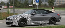 Spyshots: 2012 BMW M6 Cabrio with Less Camouflage