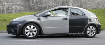 Spyshots: 2012 Honda Civic Test Mule