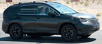 Spyshots: 2012 Honda CR-V in Death Valley