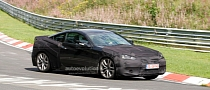 Spyshots: 2012 Hyundai Genesis Coupe Facelift Hits the Nurburgring