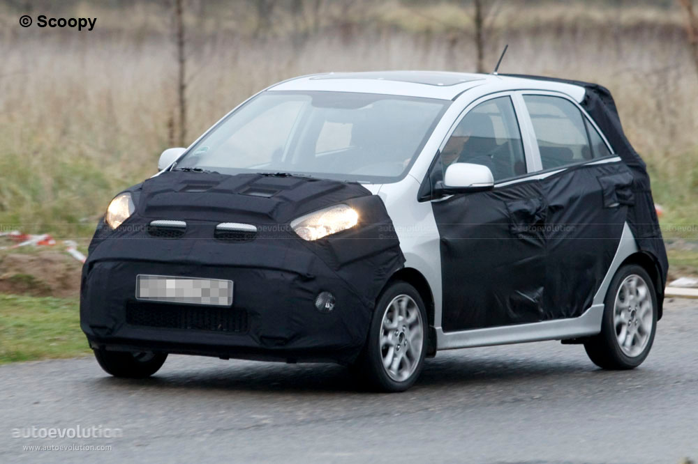 spyshots 2012 kia picanto autoevolution. Black Bedroom Furniture Sets. Home Design Ideas