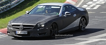 Spyshots: 2012 Mercedes-Benz SL on the Nurburgring