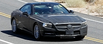 Spyshots: 2012 Mercedes SL Shows More Skin