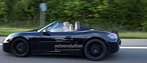 Spyshots: 2012 Porsche Boxster Spotted With the Top Down