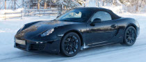 Spyshots: 2012 Porsche Boxster Testing in the Cold