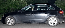 Spyshots: 2013 Audi A3 5-Door Sportback with Rendering
