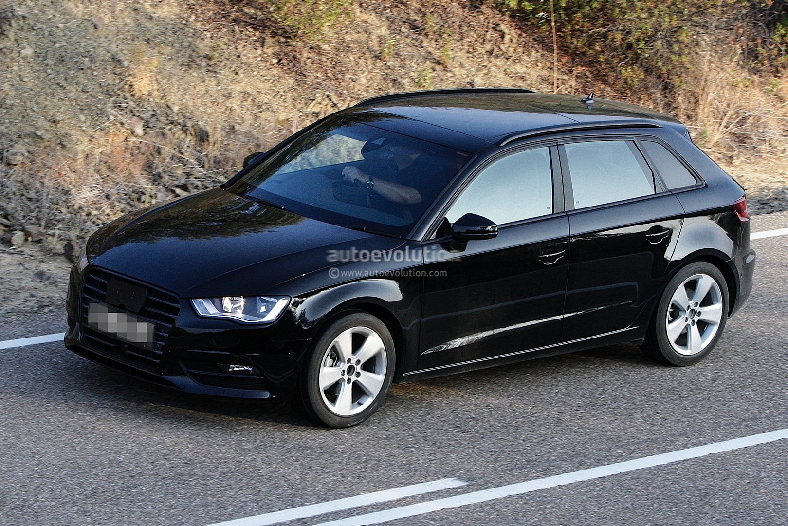 spyshots 2013 audi a3 sportback autoevolution. Black Bedroom Furniture Sets. Home Design Ideas
