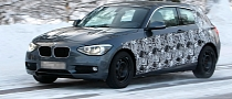 Spyshots: 2013 BMW 1-Series 3-Doors