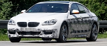 Spyshots: 2013 BMW 6-Series Gran Coupe With M Sport Package