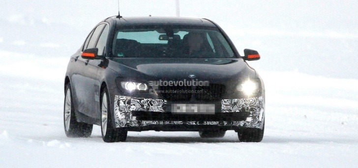 Spyshots: 2013 BMW 7-Series Facelift