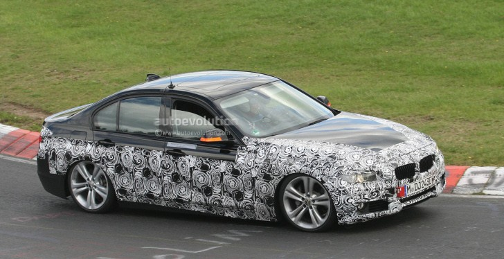 Spyshots: 2013 BMW ActiveHybrid 3 Spotted Again