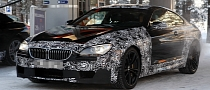 Spyshots: 2013 BMW M6 Coupe and Cabrio