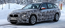 Spyshots: 2013 F31 BMW 3-Series Touring