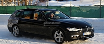 Spyshots: 2013 F31 BMW 3-Series Touring Almost Revealed