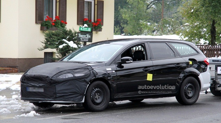 Spyshots: 2013 Ford Mondeo and Fusion Replacement Wagon Version