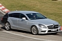 Spyshots: 2013 Mercedes CLS Shooting Brake on Nurburgring