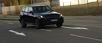 Spyshots: 2013 Mercedes GLK Facelift Performance Testing