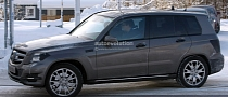 Spyshots: 2013 Mercedes GLK Caught Almost Undisguised