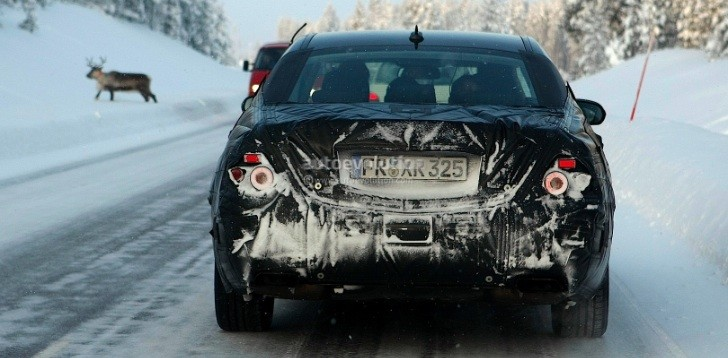 Spyshots: 2013 Mercedes S-Class and a Reindeer Winter Testing