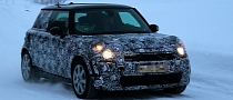 Spyshots: 2013 MINI Cooper Winter Testing