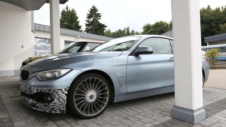 Spyshots: 2014 Alpina B4 Biturbo Coupe (F32 BMW 4 Series)